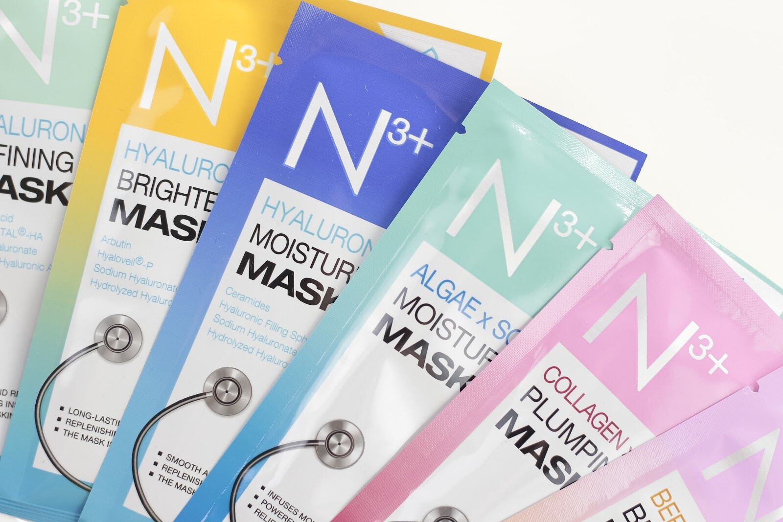 N3/n3+ fátyolmaszkok -arcmaszkok