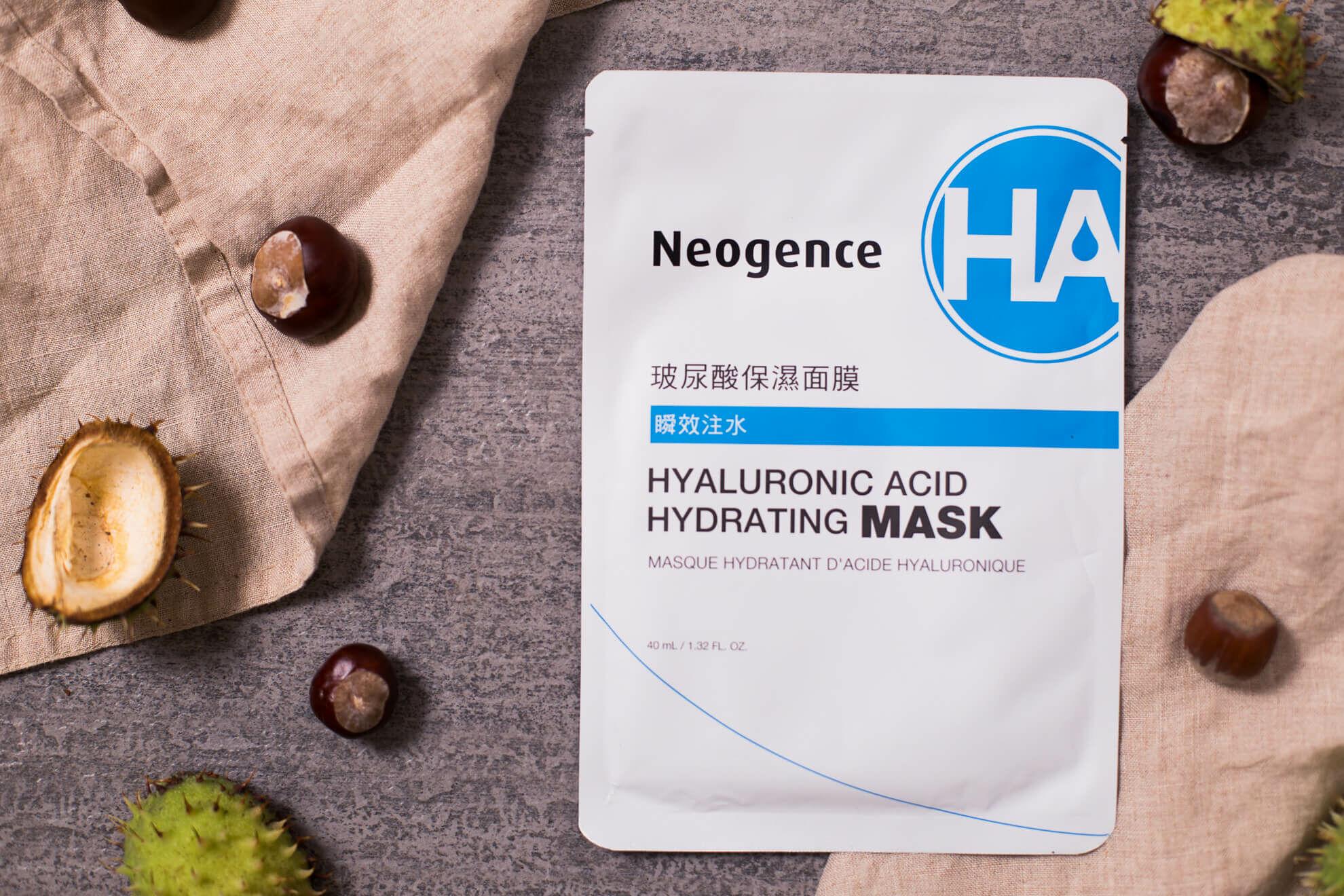 Neogence hialuronsavas hidratáló fátyolmaszk