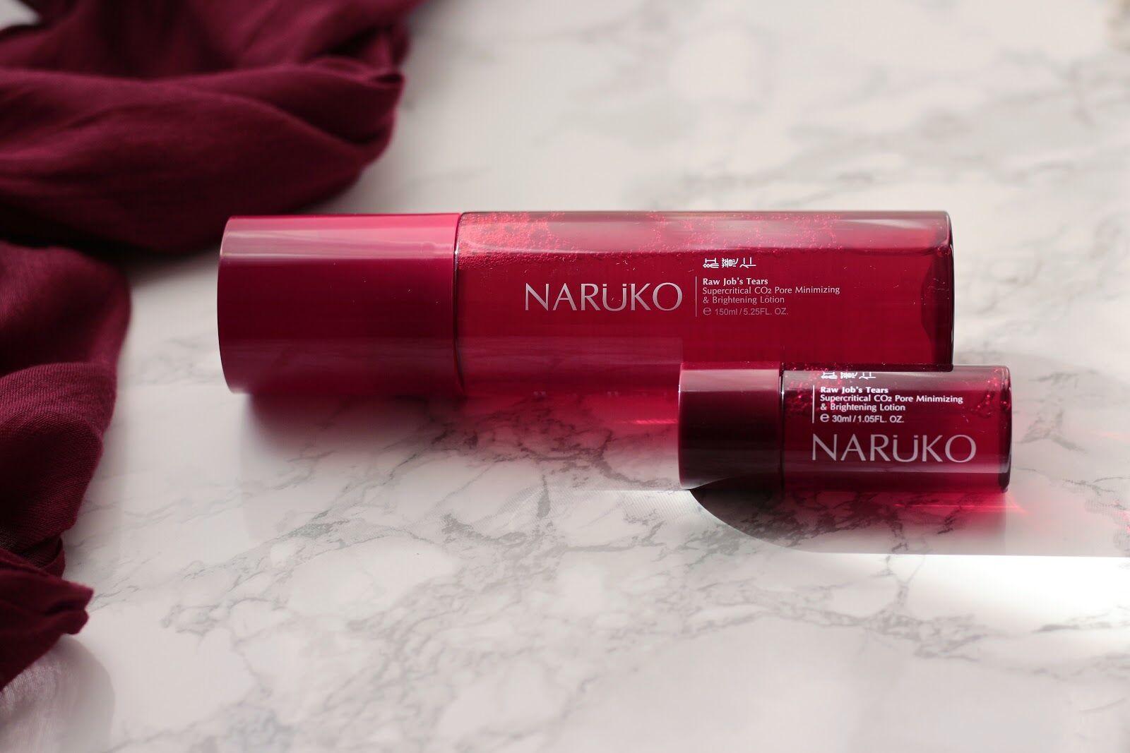 Narüko pórusösszehúzó és folthalványító lotion vörös árpával 150m