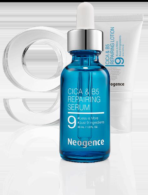Neogence CICA&B5 regeneráló termékcsalád panthenollal