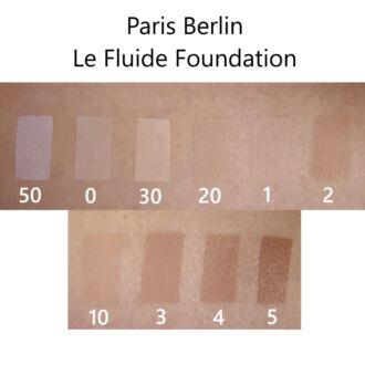 Paris Berlin Le Fluide alapozó színek