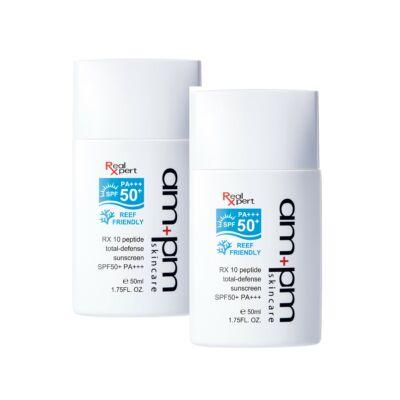 NARÜKO am+pm 10 peptides bőrvédő naptej SPF50*** PA+++ 50ml