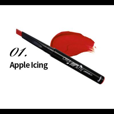 Solone krémes matt rúzs 0,3g - 01 - Apple Icing