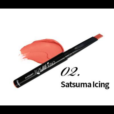Solone krémes matt rúzs 0,3g - 02 - Satsuma Icing
