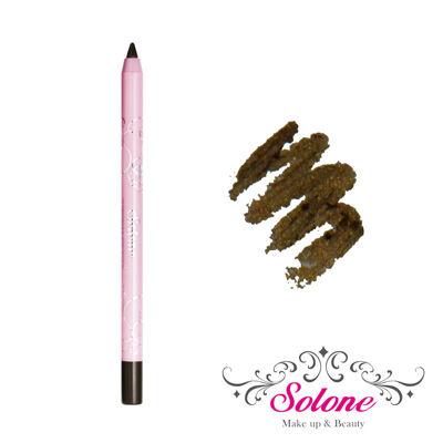 Solone Princess Rose Garden Vízálló tartós szemceruza - #4 Black Gold - aranycsillámos fekete (1,5g)