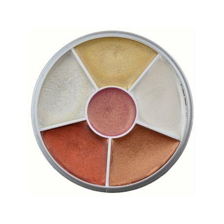 Kryolan krémes szemhéj paletta 30g (Classic)