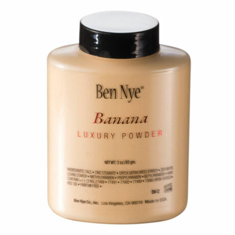 Ben Nye Visage Luxury púder - Banana 85g