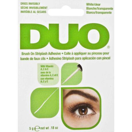 DUO Brush On Striplash Adhesive Clear műszempilla ragasztó (átlátszó) 5g