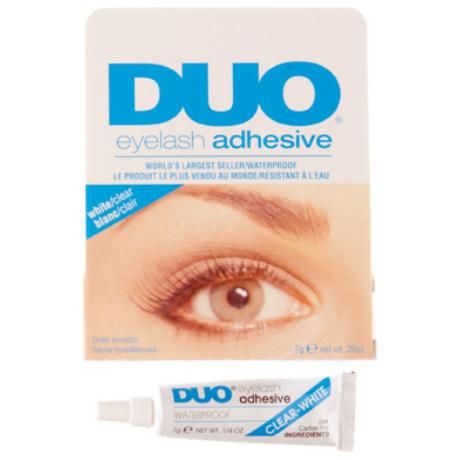 DUO Eyelash Adhesive Clear műszempilla ragasztó (átlátszó) 14g