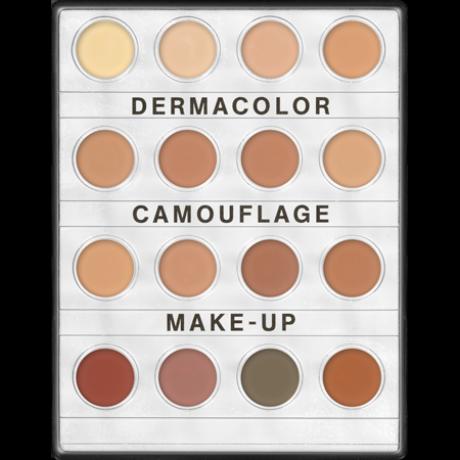 Kryolan Dermacolor camouflage krémalapozó minipaletta 16 színnel 10g - Nr.2