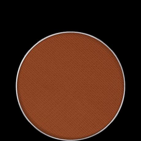 Kryolan Eye Shadow Compact Matt matt szemhéjpúder/arcpír utántöltő (Cafe Latte) 2,5g