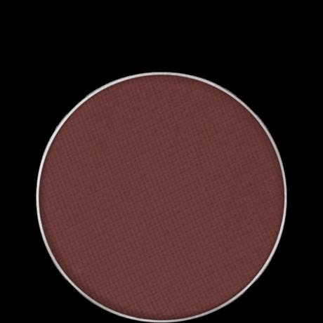 Kryolan Eye Shadow Compact Matt matt szemhéjpúder/arcpír utántöltő (Aubergine) 2,5g