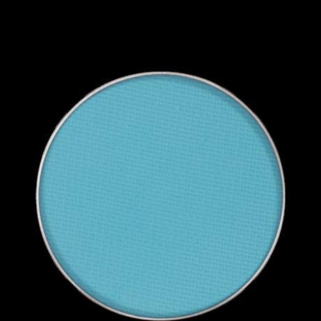 Kryolan Eye Shadow Compact Matt matt szemhéjpúder/arcpír utántöltő (Caribbean) 2,5g