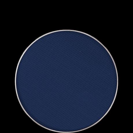 Kryolan Eye Shadow Compact Matt matt szemhéjpúder/arcpír utántöltő (Night Blue) 2,5g