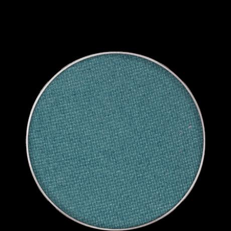 Kryolan Eye Shadow Compact Glanz fényes szemhéjpúder/arcpír utántöltő (BG Blue G) 2,5g