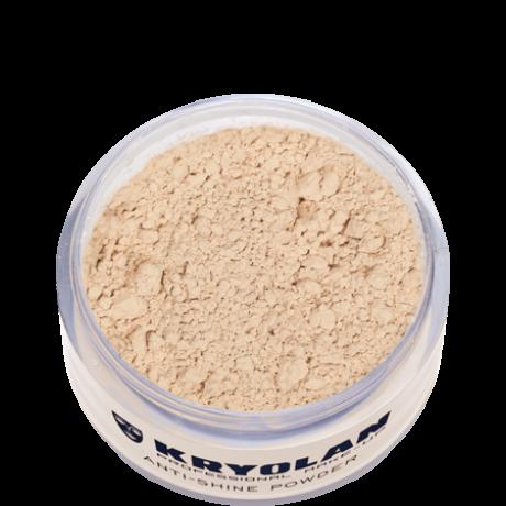 Kryolan Anti Shine Powder mattító púder 30g Medium