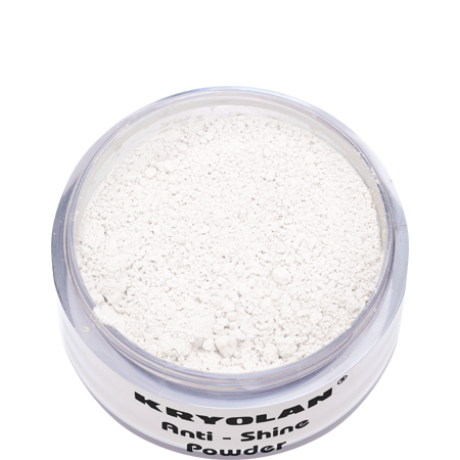 Kryolan Anti Shine Powder mattító púder 30g
