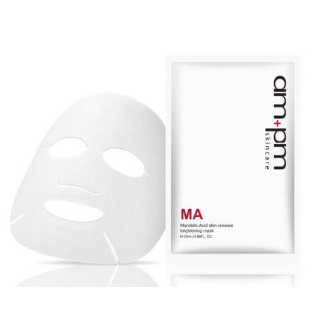 NARÜKO am+pm hámlasztó bőrmegújító revitalizáló fátyolmaszk mandulasavval 5x25ml (5 tasak - 1 doboz)