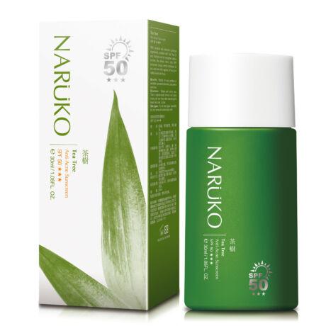 NARÜKO könnyed színezett fényvédő teafaolajjal problémás bőrre SPF50*** 30ml
