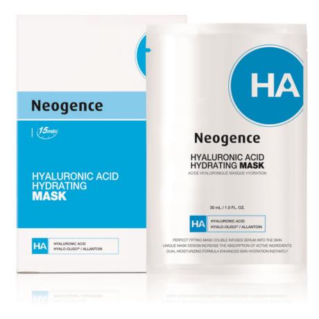Neogence hialuronsavas hidratáló fátyolmaszk 6x30ml (6 tasak 5 áráért)