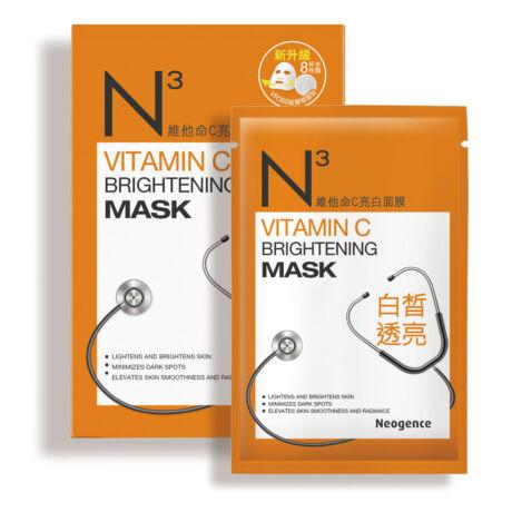 Neogence N3 C-vitaminos revitalizáló fátyolmaszk 8x30ml (8 tasak - 1 doboz)