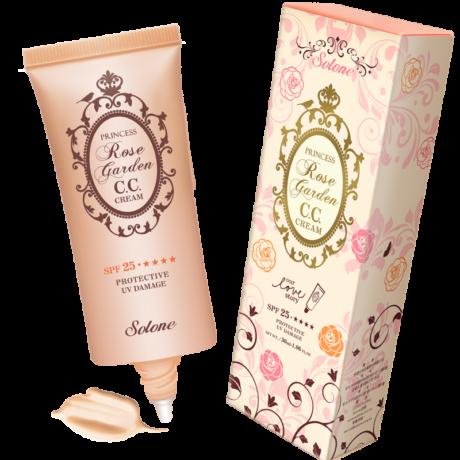 Solone Princess Rose Garden CC krém nagyon világos bőrre SPF25**** Nr. 1- rózsaszínes tónus 30ml