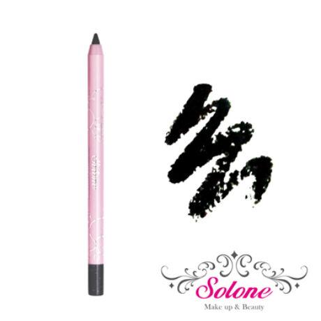 Solone Princess Rose Garden Vízálló tartós szemceruza - #2 Ezüst csillámos fekete 1,5g