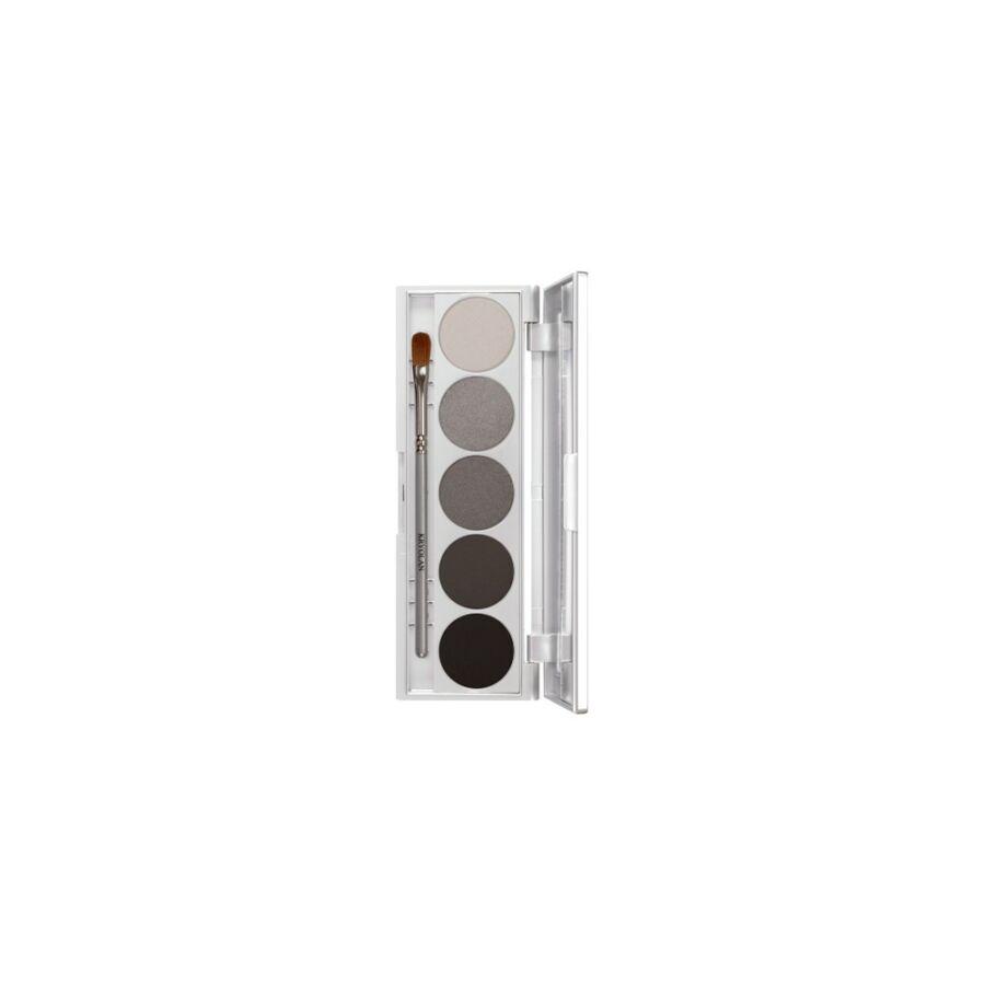 Kryolan Shades Etui 5 színnel szemhéj/arcpirosító paletta