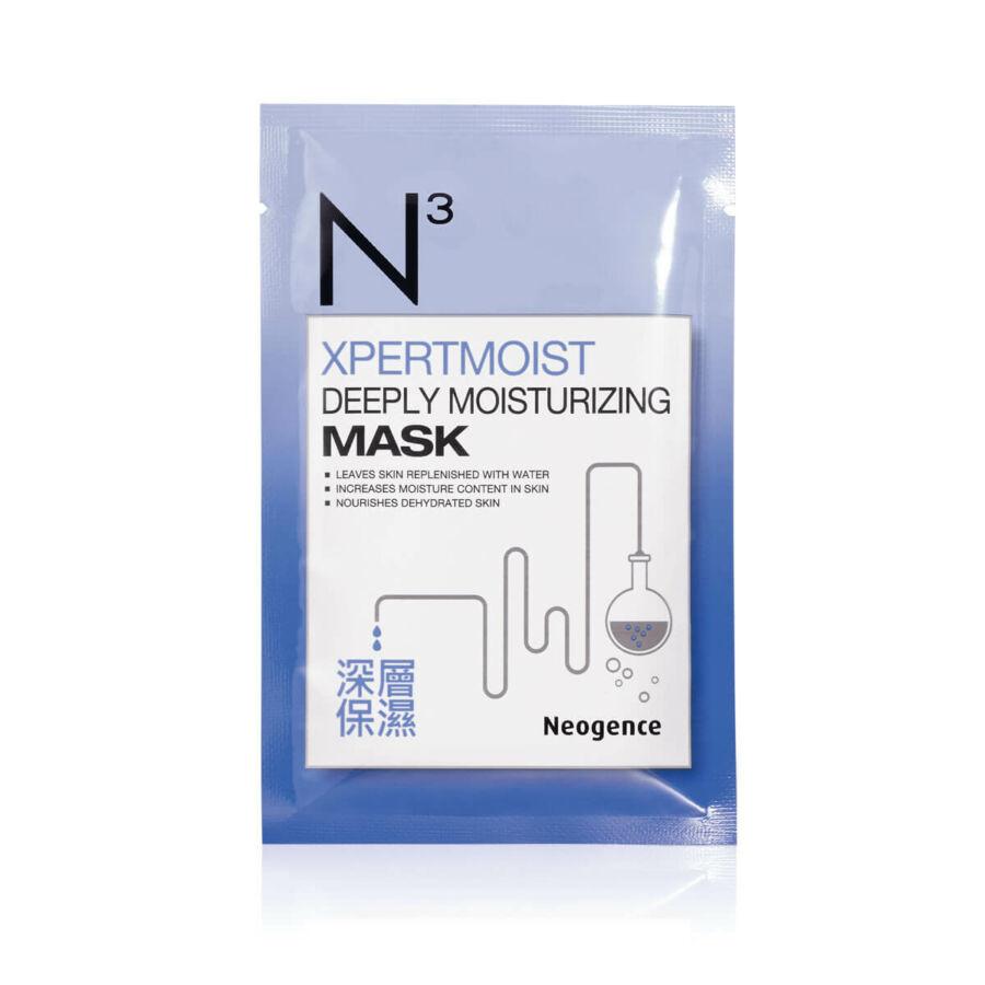 Neogence N3 Xpermoist mélyhidratáló fátyolmaszk 1x30ml (1 tasak)
