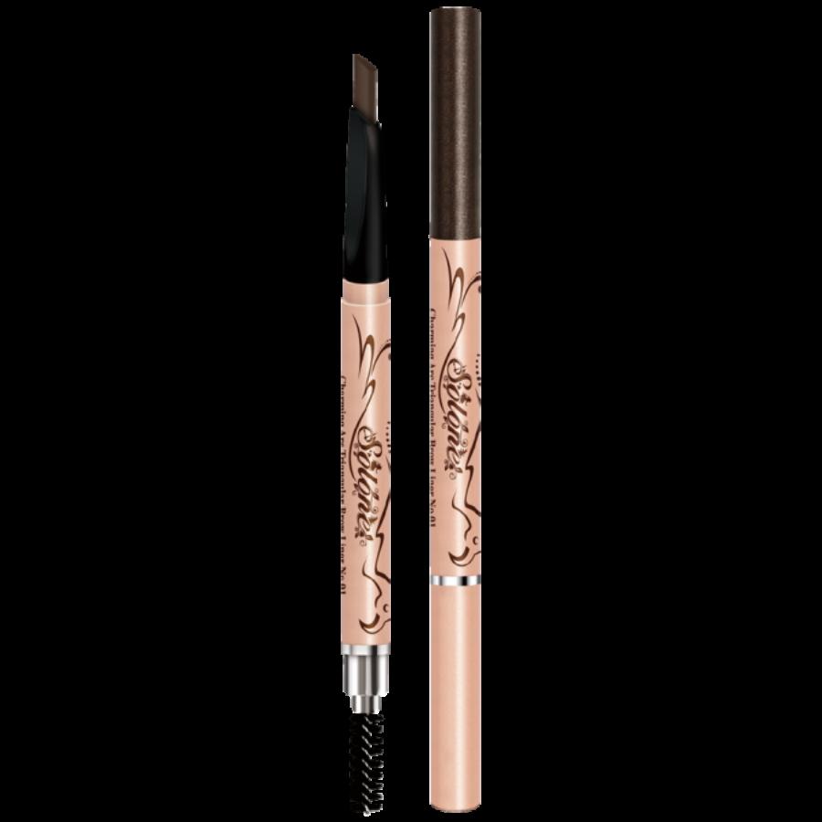 Solone Flight of Fancy szemöldökformázó ceruza - 1 Dark Brown 7g
